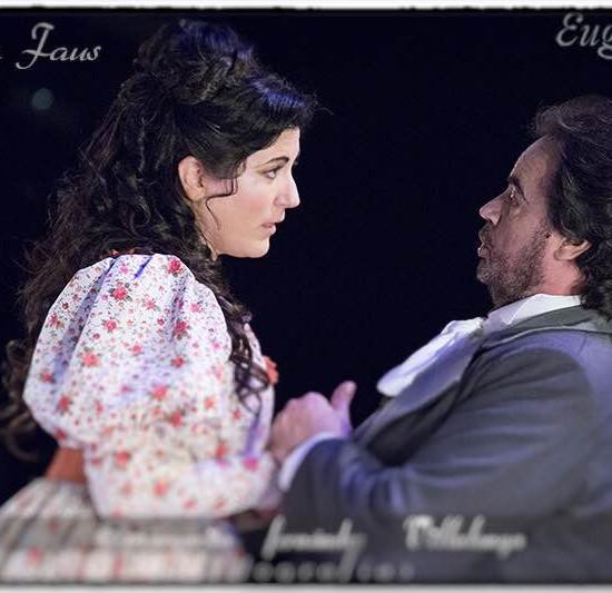 "Foto Cristina Faus en ""Eugen Onegin"" Teatro Principal de Mallorca. Mayo 2015."