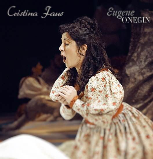 "Foto de Cristina Fus en ""Eugen Onegin"" Teatro Principal de Mallorca. Mayo 2015."